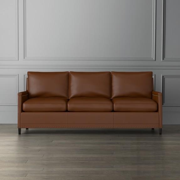 addison leather sofa