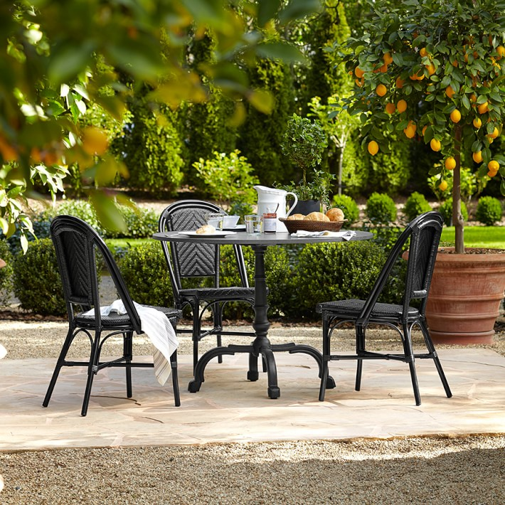 la coupole indoor outdoor round dining table