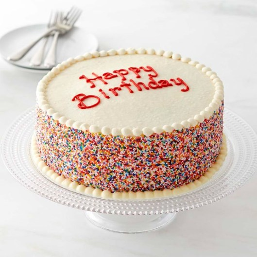 Happy Birthday Layer Cake | Online Baked Goods | Williams Sonoma