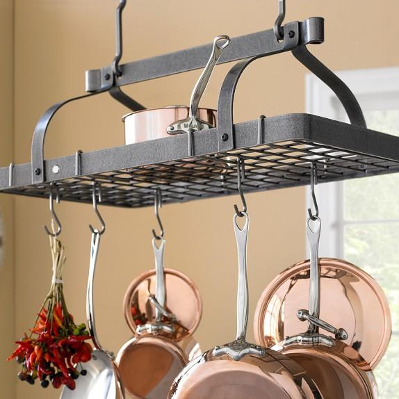 pan racks pot hangers williams sonoma
