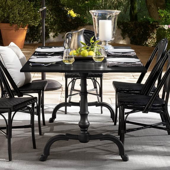 la coupole indoor outdoor rectangular dining table