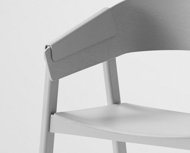 'Cover chair' by Thomas Bentzen for Muuto | Yellowtrace.
