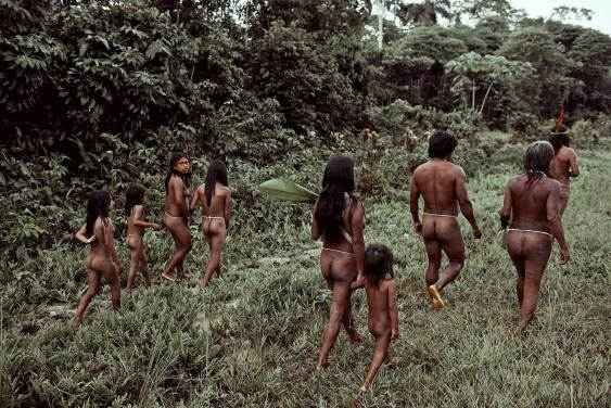 Huaorani Tribe, Ecuador. Photo by Jimmy Nelson   Yellowtrace