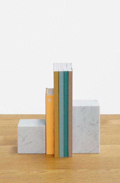 E15 Marble Book Ends | Yellowtrace