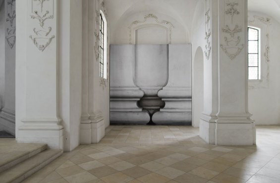 'Barock' / Photographic Installation by Renate Buser at Bellelay Abbey | Yellowtrace