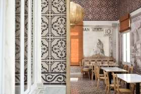 Liza Beirut Restaurant Designed by Marc Soughayar & Maria Ousseimi | Yellowtrace