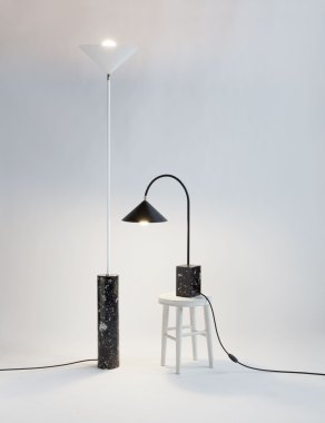 Aspect Floor & Table Lamp by Moving Mountains   Yellowtrace