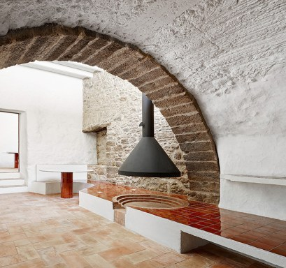 Epic farmhouse renovation in spain by arquitectura g - Arquitectura girona ...