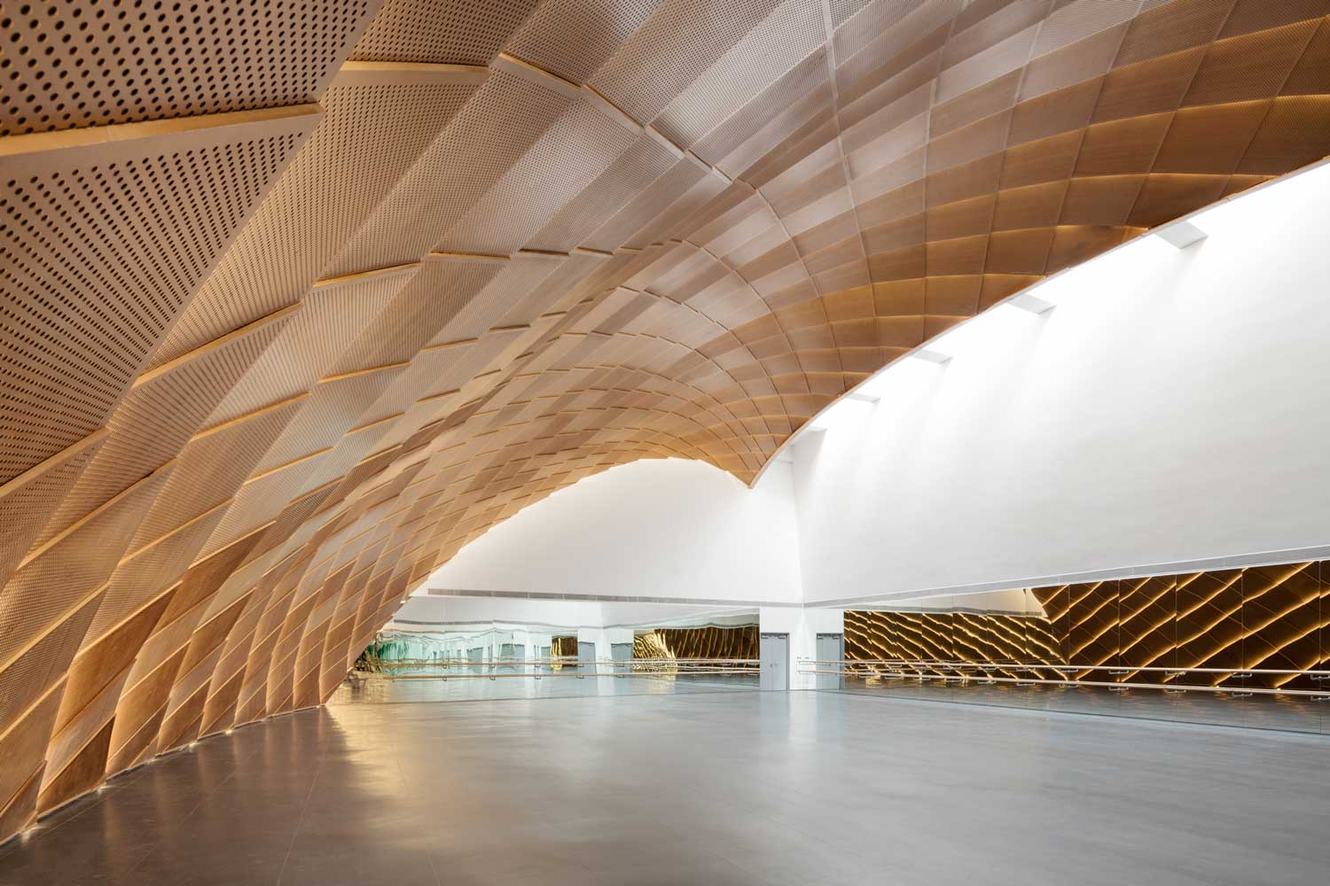 Harbin Opera House By Mad Architects Yellowtrace