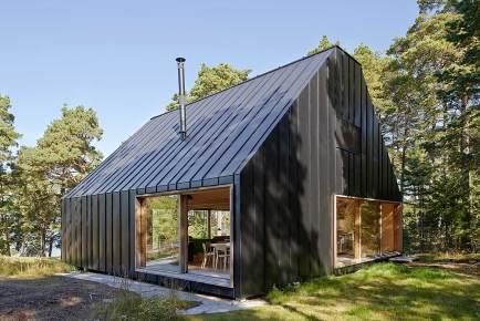 House Husarö in Stockholm, Sweden by Tham & Videgård Arkitekter | Yellowtrace
