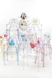 Lou Lou Ghost Kids by by Philippe Starck for Kartell, Salone Del Mobile 2016 | #Milantrace2016