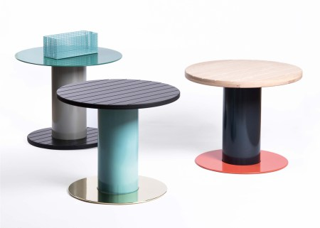 Reel Side Tables by David Derksen, Salone Satellite 2016 | #MILANTRACE2016