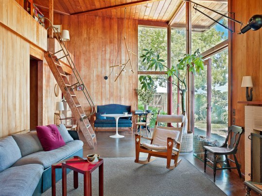 Timber & Glass Cabin by Don Emmons   Yellowtrace