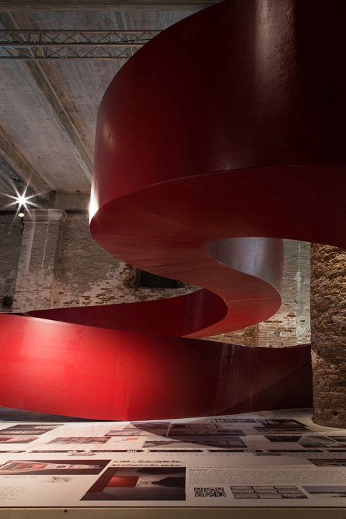 Aequilibrium Suspended Walkway by C+S architects   Yellowtrace