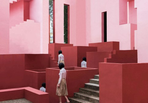 Architecture Meets Perfect Colour Palettes in June Kim & Michelle Cho's Captivating Images | Yellowtrace
