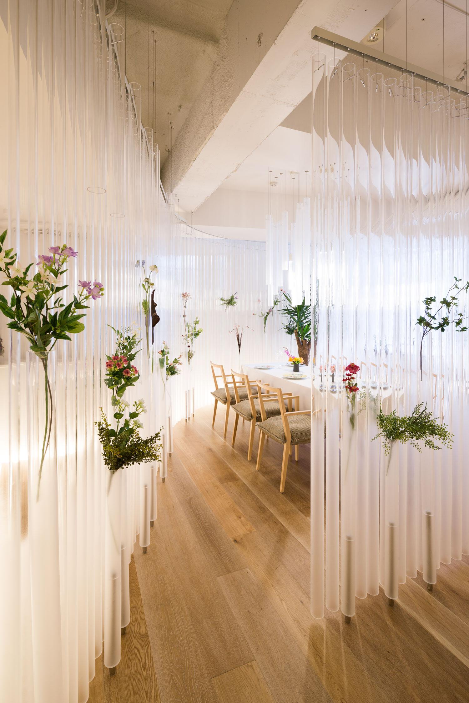 Nacre Restaurant In Tokyo By Kengo Kuma Yellowtrace