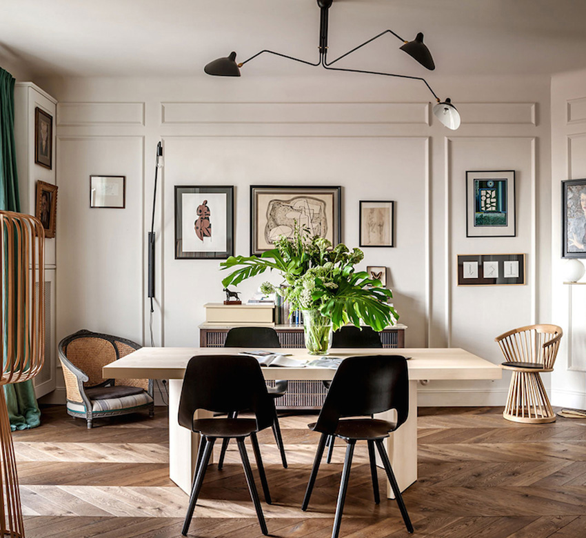 Apartement: 1930s Warsaw Apartment Renovation By Colombe Design