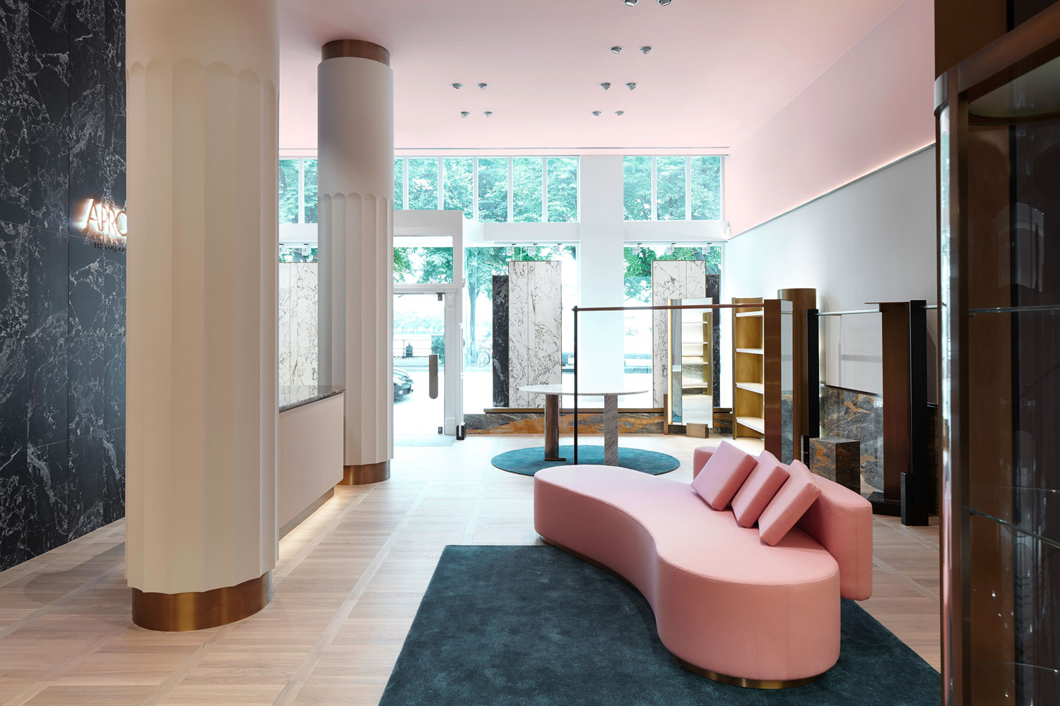 Apropos Concept Store in Hamburg by Rodolphe Parente.