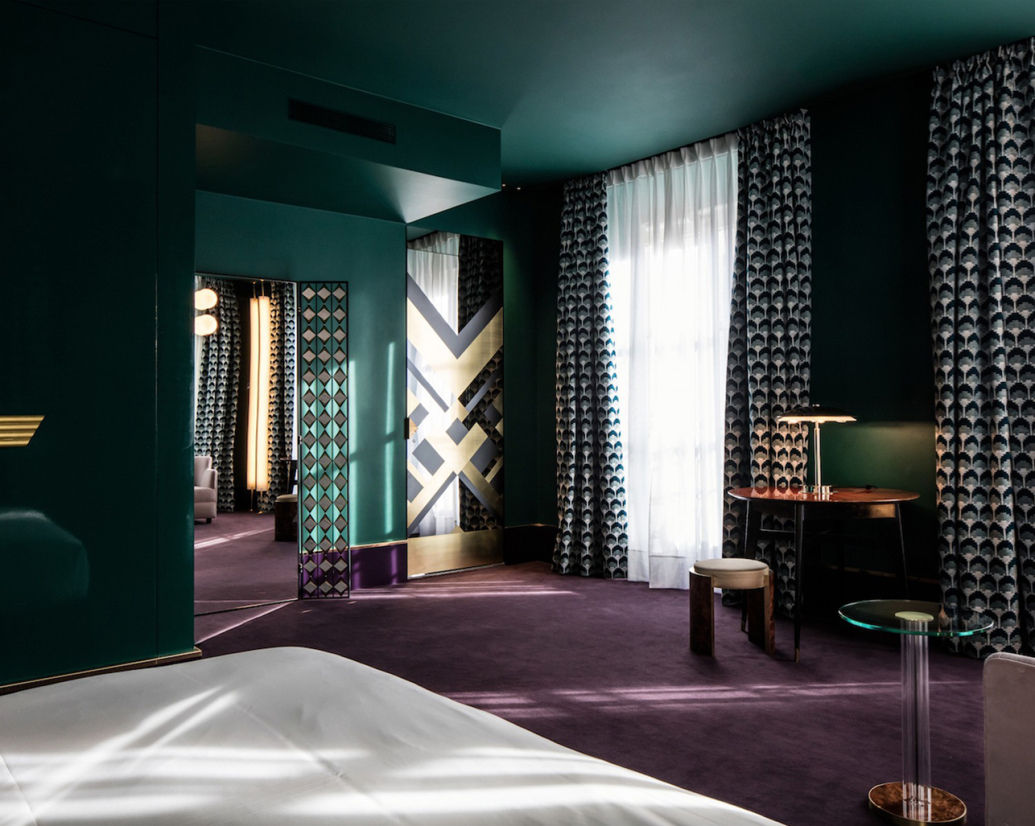 hotel saint marc paris by dimore studio yellowtrace. Black Bedroom Furniture Sets. Home Design Ideas