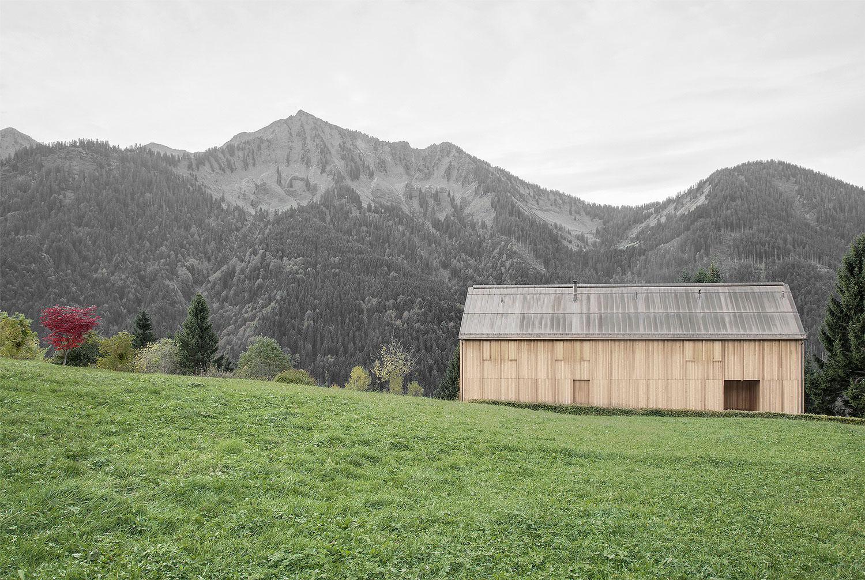 Charmant Modern Farmhouse In Laterns, Austria By Bernardo Bader Architekten |  Yellowtrace