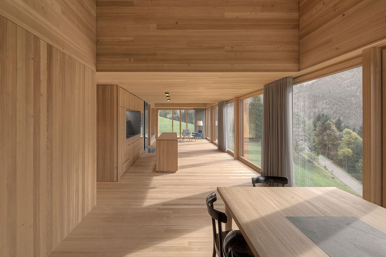 AuBergewohnlich Modern Farmhouse In Laterns, Austria By Bernardo Bader Architekten |  Yellowtrace