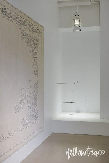 Nendo Invisible Outlines at Jil Sander Milan, Photo © Nick Hughes/ Yellowtrace | #Milantrace2017