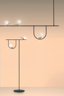 Yanzi by Artemide at Euroluce 2017 | Yellowtrace