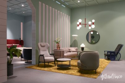 Wittman Stand at Salone del Mobile. Photo by Nick Hughes   Yellowtrace