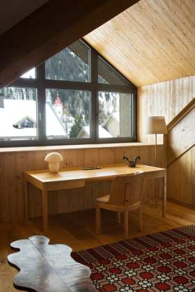 Chalet in the Swiss Alps by Pierre Yovanovitch   Yellowtrace