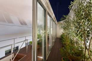 House with Plants in Japan by Kamakura Studio | Yellowtrace