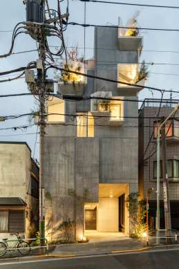 Tree-ness House in Toshima, Japan by Akihisa Hirata | Yellowtrace