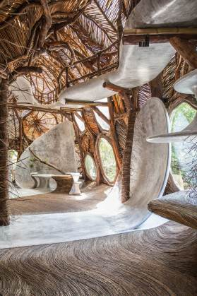 IK LAB Fine Art Gallery in Tulum, Mexico by Jorge Eduardo Neira Sterkel | Yellowtrace