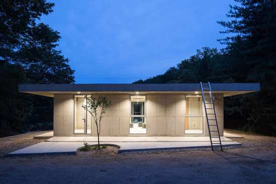 AeLe House with 9 Rooms in South Korea by NAMELESS Architecture | Yellowtrace