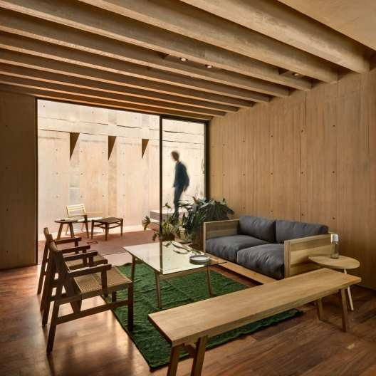 Concrete Apartment Complex in Mexico City by Taller Hector Barroso | Yellowtrace