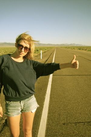 road trip! (and blonde hair!)