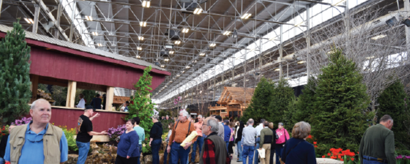 2020 flower patio show in