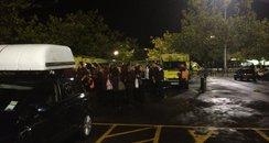 leak at Sainsbury's Hedge End