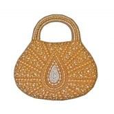 bhamini-textured-jute-handbag-with-beaded-leaf-motif-dark-gold