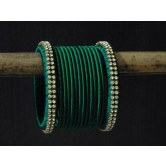 green-silk-thread-bangles-with-stones