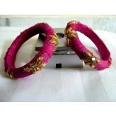 pink-silk-designer-handmade-zardosi-bangles-with-kundans