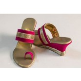 pretty-pink-golden-bead-wedges