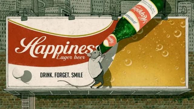 Happiness: la animación como crítica social 8