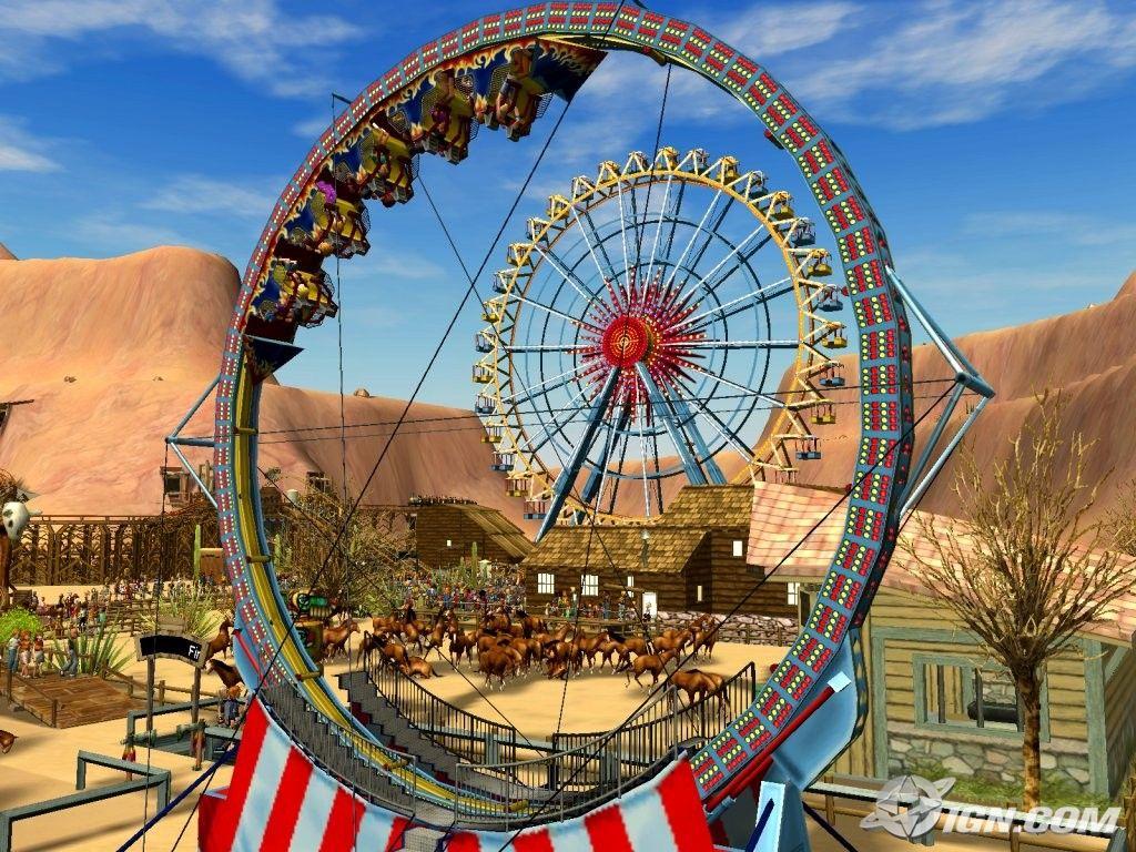 RollerCoaster Tycoon 3 Wild Screenshots Pictures