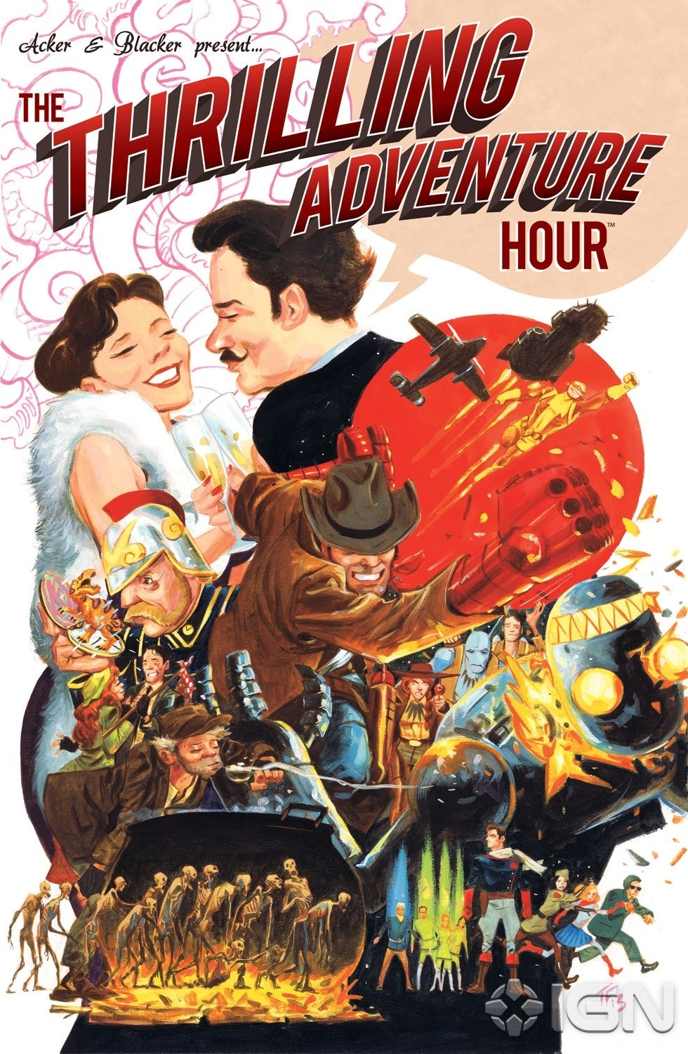 Archaia Captures The Thrilling Adventure Hour IGN