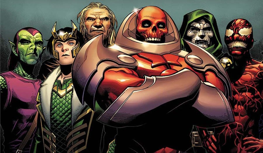 The Heroes And Villains Of AXIS Marvels AvengersX Men