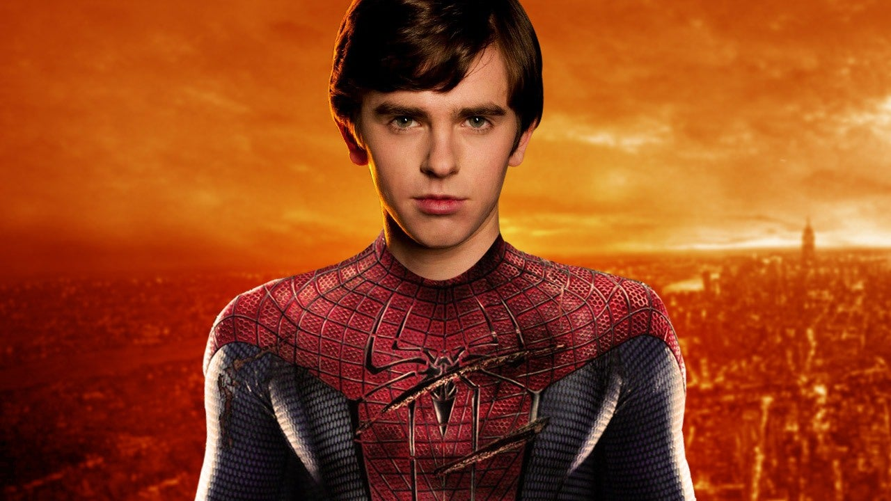 Spider Man Freddie Highmore Wants To Be The Next Spidey IGN