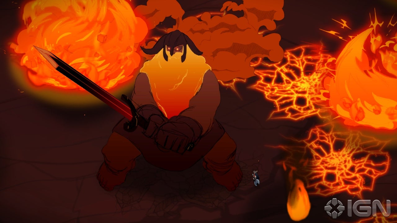 Jotun Introducing The New Terrifying Flaming Boss IGN