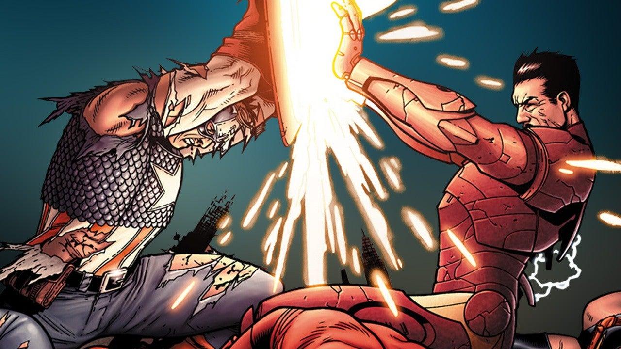 7 Craziest Moments From Marvels Civil War Comic IGN