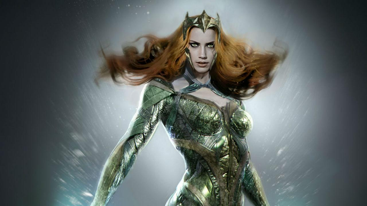 Justice League Exclusive First Look At Amber Heard As