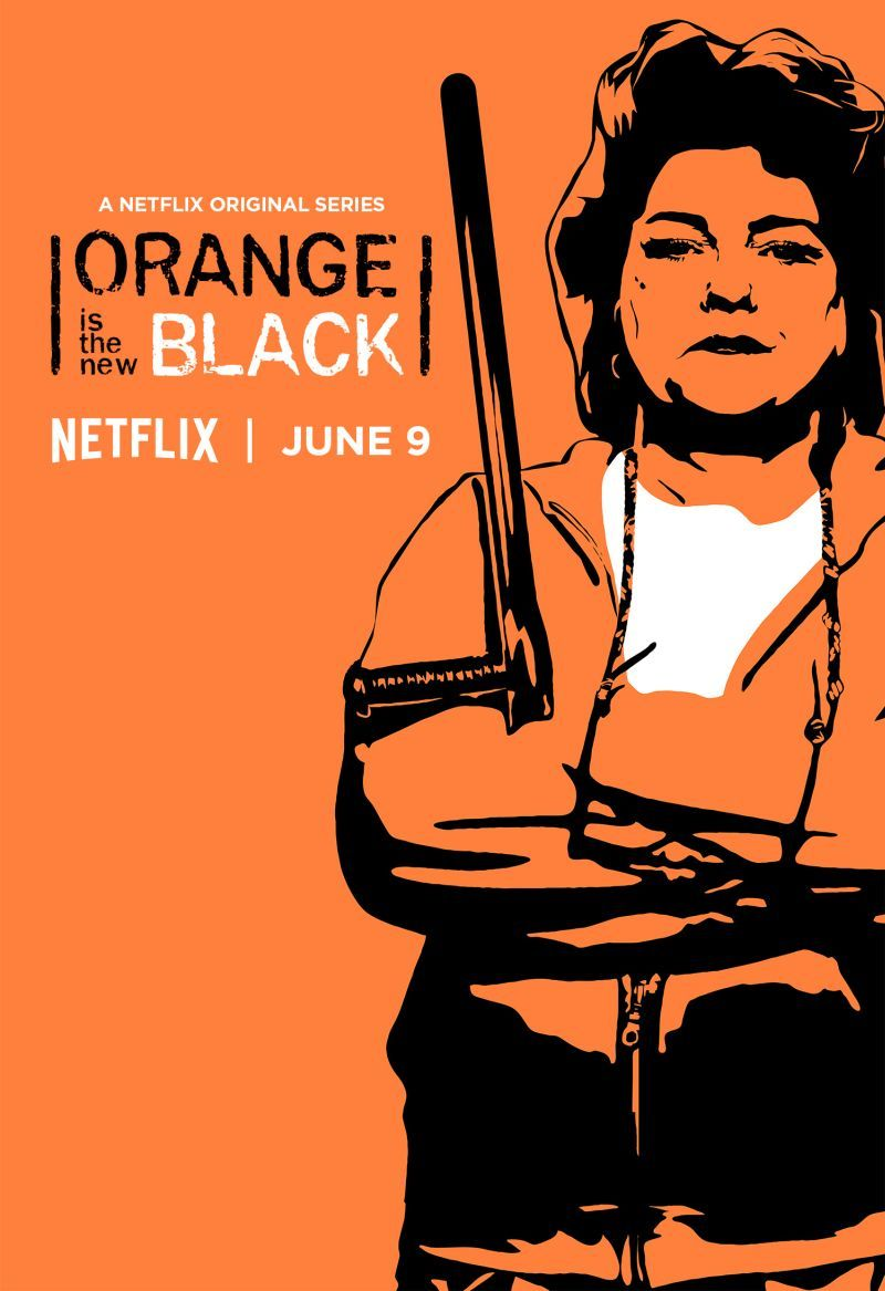 Resultado de imagem para orange is the new black season 5 character poster
